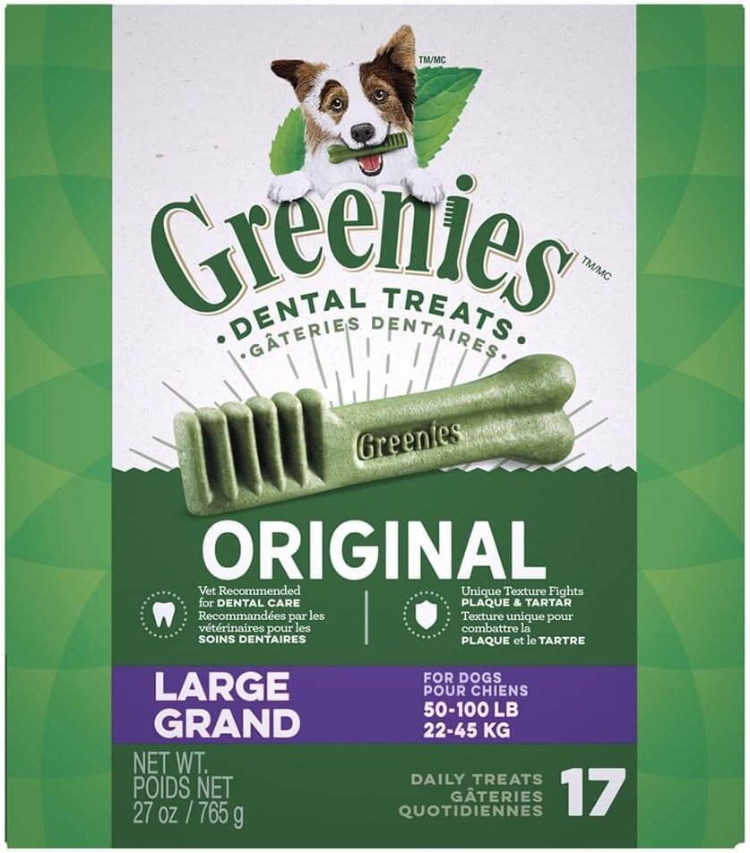 Greenies 17 ct 27 oz Canister Large 1 x 27oz