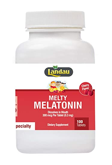 Landau Melty Melatonin 300 mcg 100 Tablets