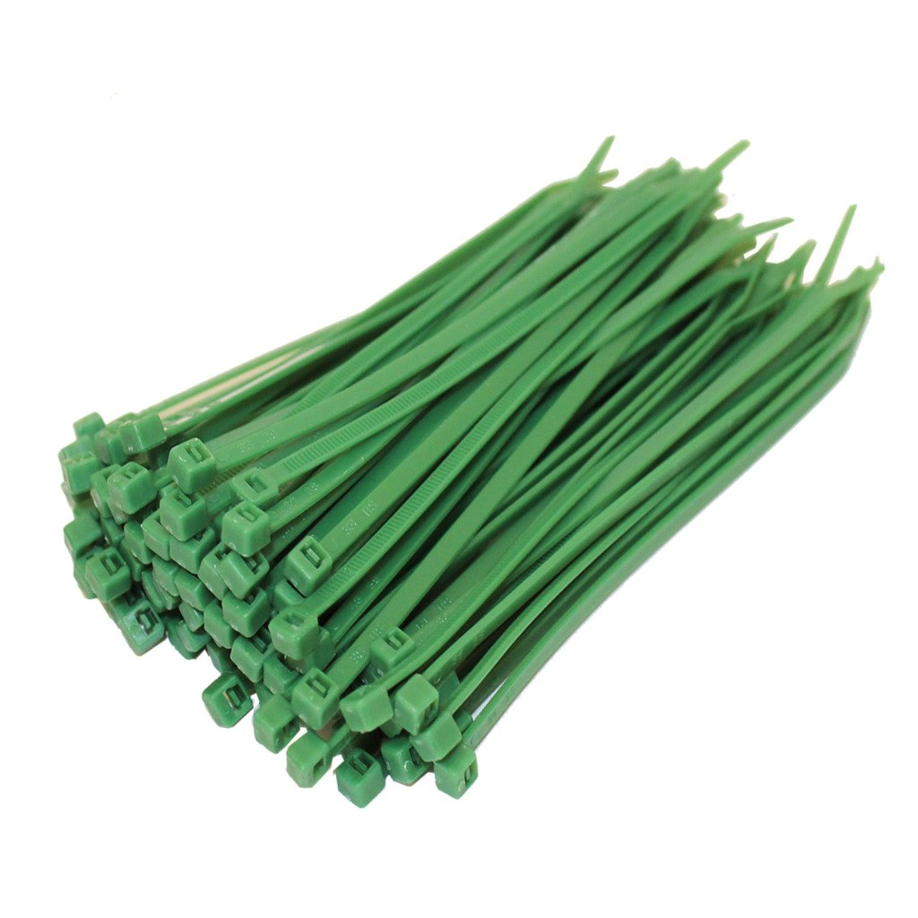 1000 CABLE TIES 100MM X 2.5MM BLACK OR NATURAL//WHITE ZIP TIE WRAPS