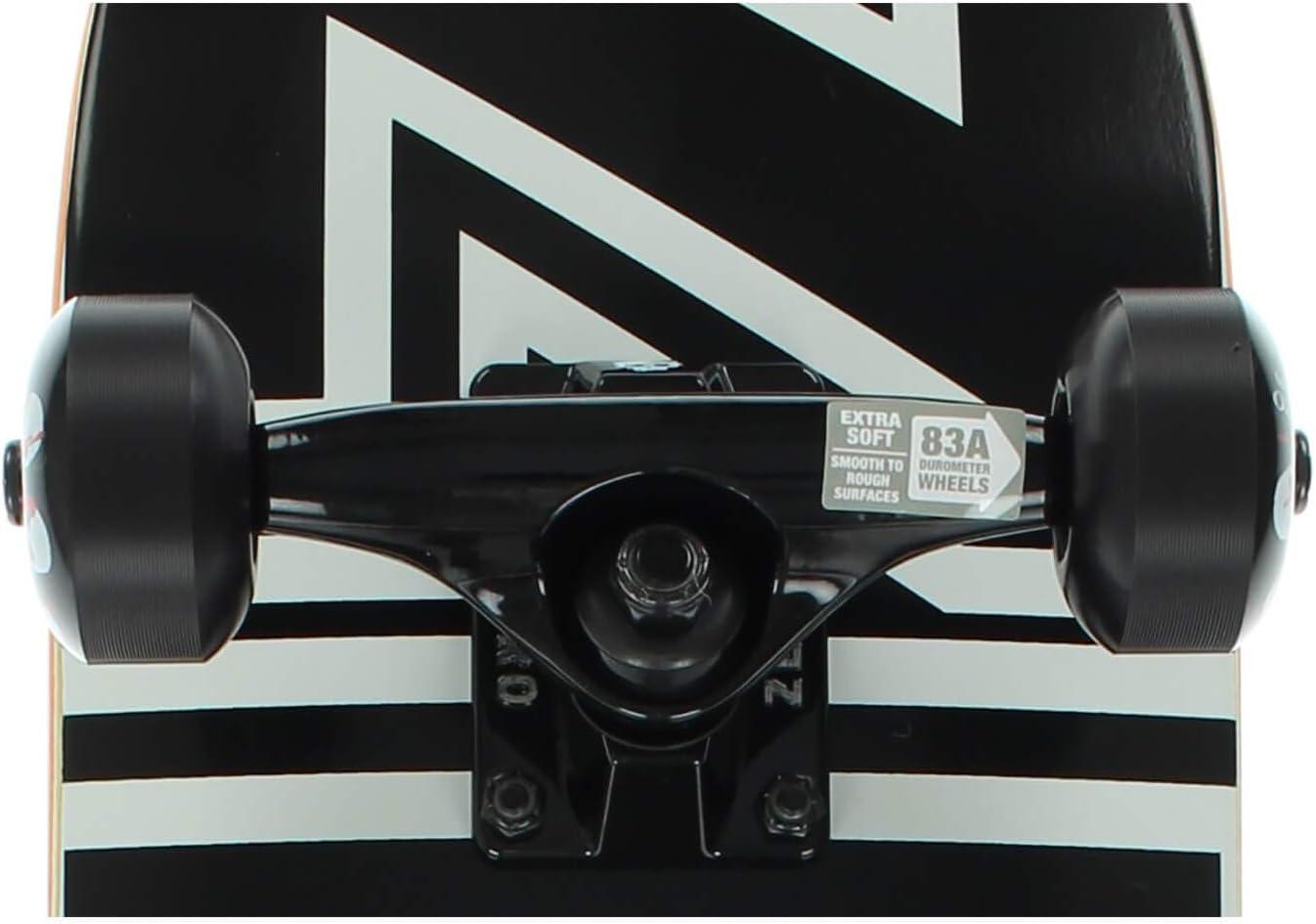 """7.25/"""" x 29/"""" Zero Skateboards Bold Mini Complete Skateboard"""