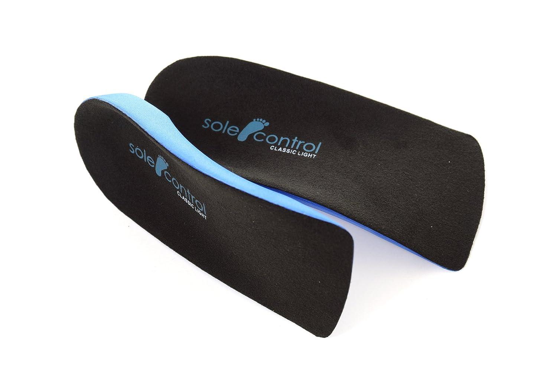 Un dispositivo medico classe One Fallen archi piede piatto 2/x da sole Control Ultra Light 3//4/lunghezza solette ortopediche Arco supporti pronazione gel tallone per fascite plantare