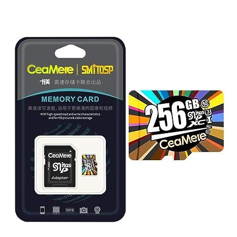 JIAX Tarjeta de Memoria 256GB 128GB 64GB U3 UHS-3 32GB Tarjeta ...