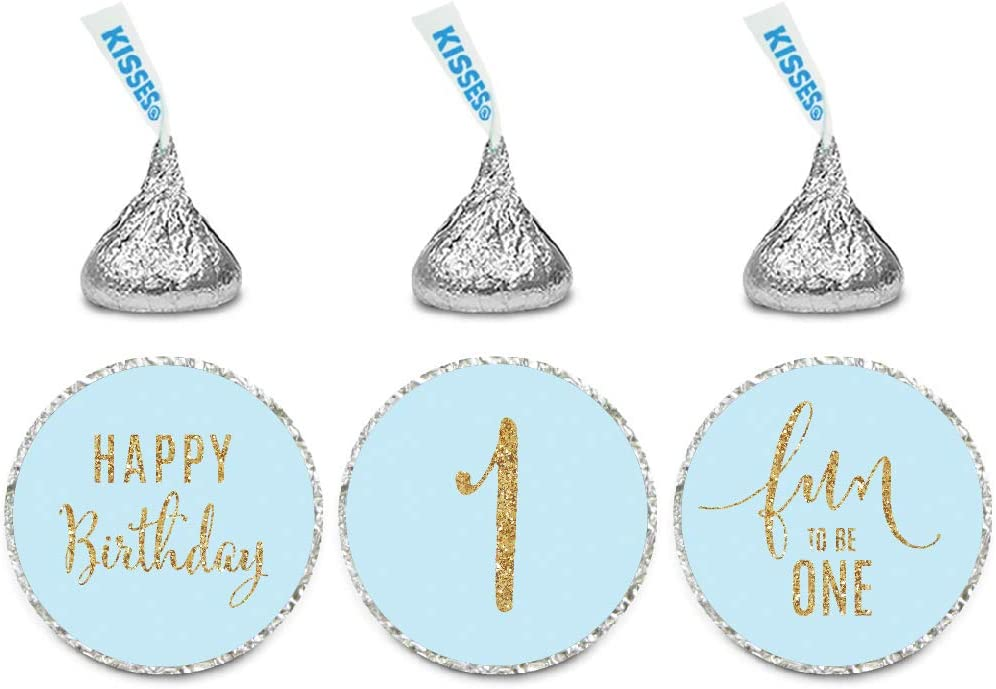 42 Baby Boy Baby Shower Labels Stickers Birthday sweet Cones Gift