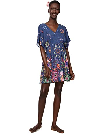 979b86bcf1c Desigual Dress Swimwear Harvir Woman Blue
