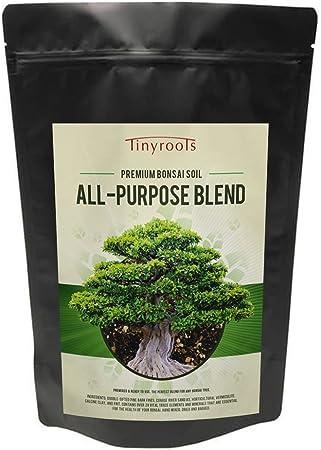 Amazon Com Tinyroots Bonsai Soil Premium Blend All Purpose Pre Mixed Potting Soil Used For All Varieties Of Bonsai Trees 2 Quarts Soil And Soil Amendments Garden Outdoor