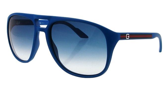 Amazon.com: Gucci gg1018/S – Gafas de sol, Azul: Gucci: Clothing