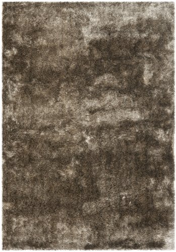 Safavieh Handmade Silken Glam Paris Shag Sable Brown Rug