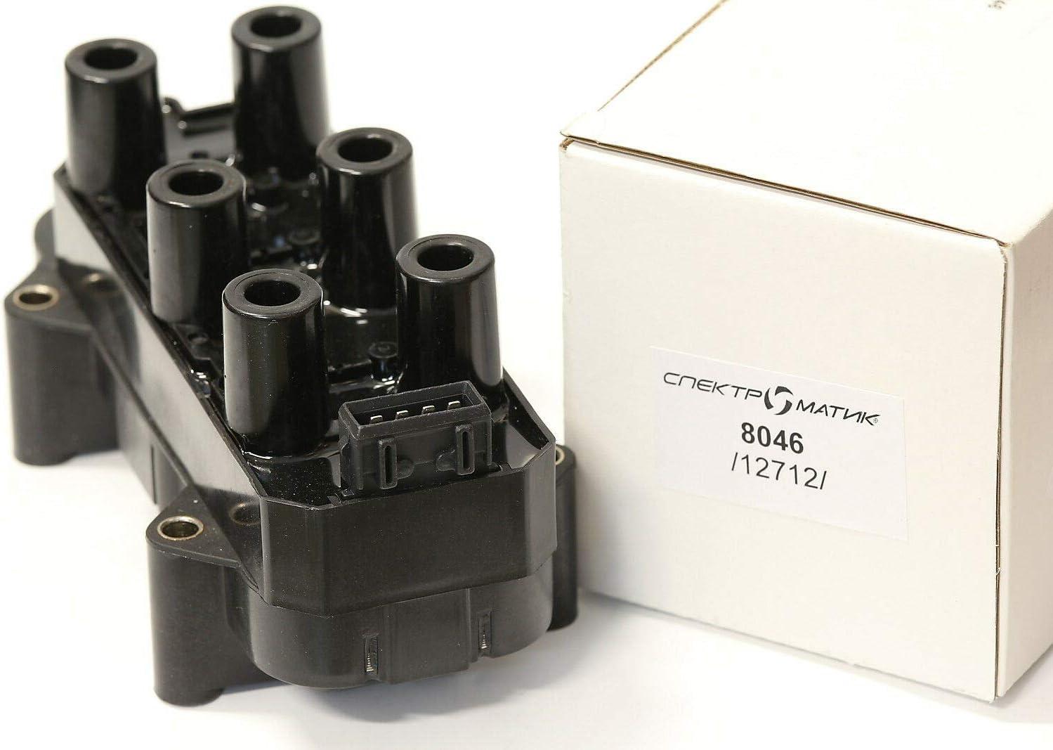 Spectromatic Zündspule 8046 1208007 90452255 90511450 Opel Omega Vectra X25xe X30xe Auto
