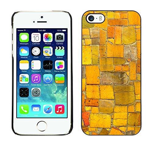 Premio Sottile Slim Cassa Custodia Case Cover Shell // V00002752 mosaïque aléatoire // Apple iPhone 5 5S 5G