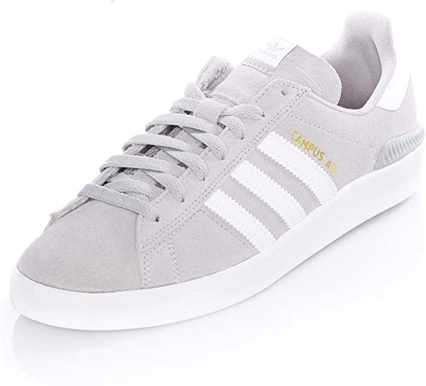 adidas Campus ADV MG Solid GreyWhiteWhite Shoes Taille US