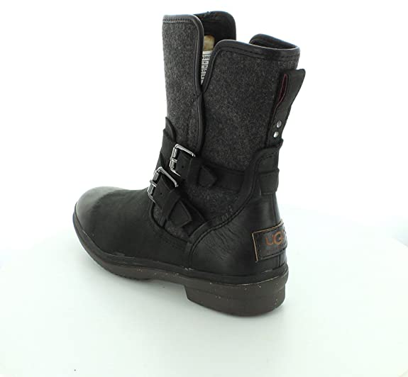 Amazon.com: UGG Australia Women's Simmens lined with Plush Wool Leather Boot: Ugg: Shoes