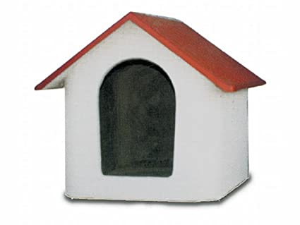 Caseta para perros de exterior Casitas de cm41 a cm102 hormigón Multicolor