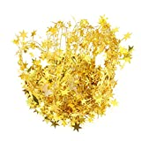 Gold Stars Wire Garland - 25 Ft X 2