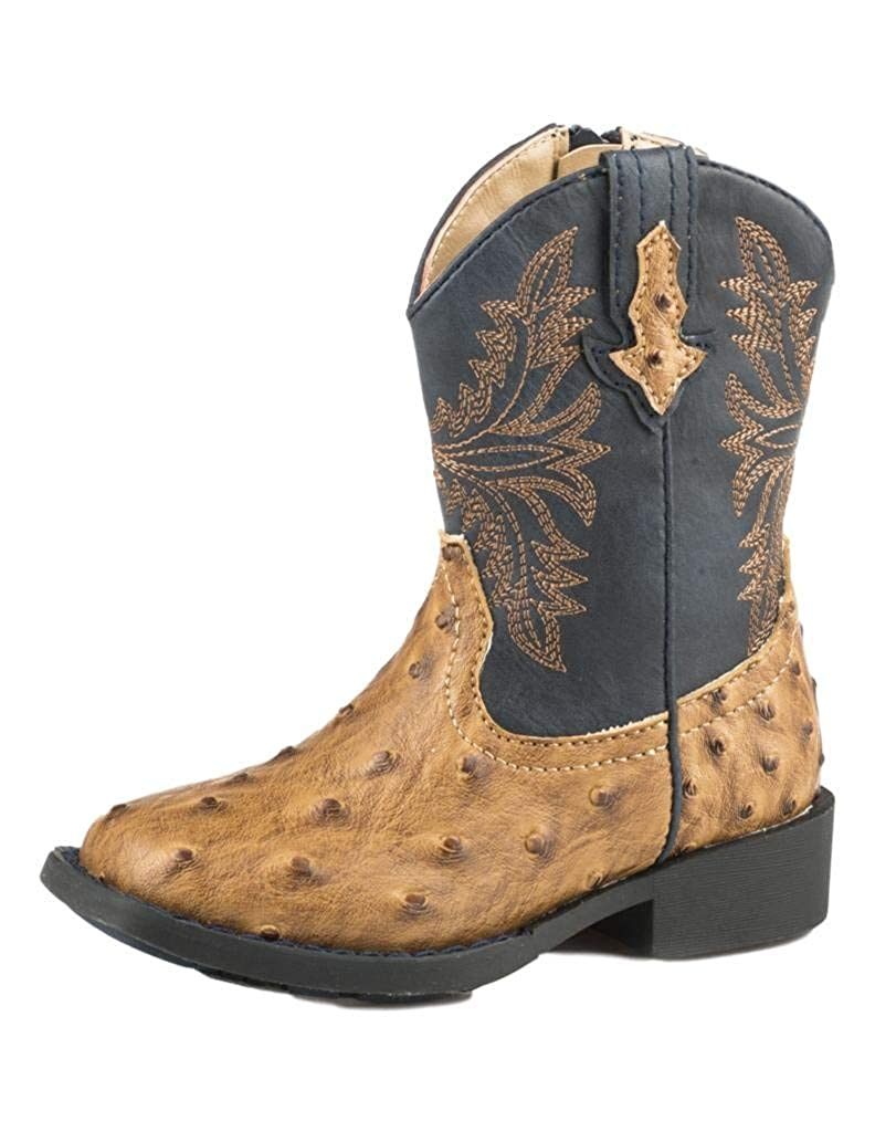 c9f53eab22e ROPER Toddler Cowboy Cool Square Toe Boots