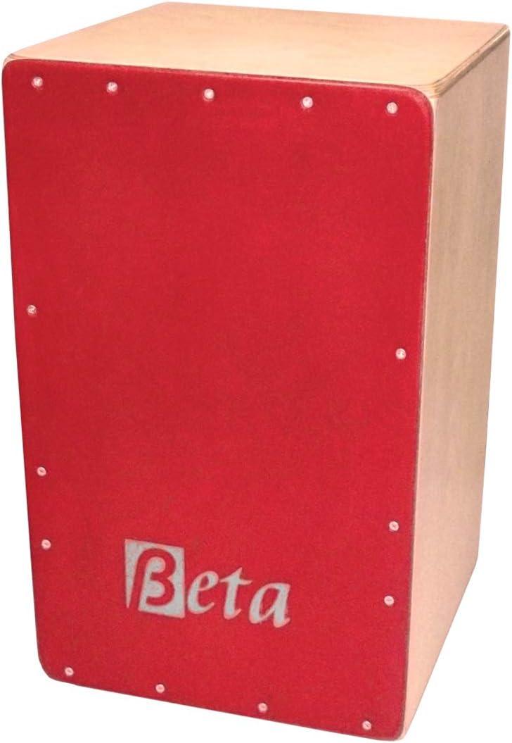 Cajón Flamenco Beta mod. BEAT | Caja rumbera de abedul finlandés artesana: Amazon.es: Instrumentos musicales