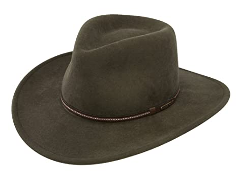 2ff9054e2b7 Stetson Gallatin Crushable Wool Felt Hat at Amazon Men s Clothing store