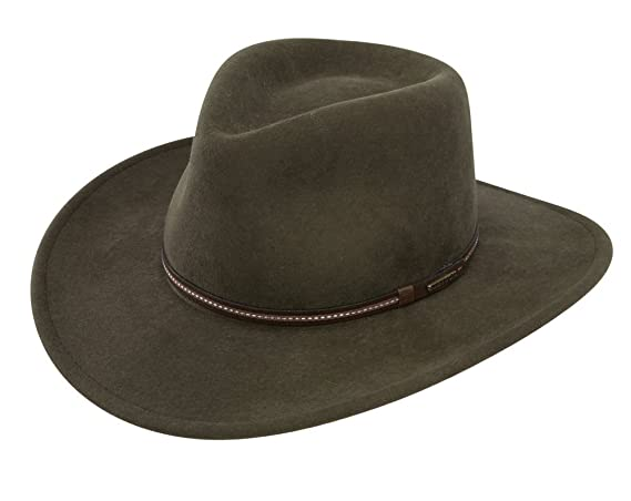 51cd57eee3e Stetson Gallatin Crushable Wool Felt Hat at Amazon Men s Clothing store