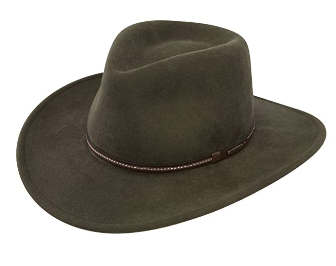 9d7106ab23a Stetson Gallatin Crushable Wool Felt Hat at Amazon Men s Clothing store