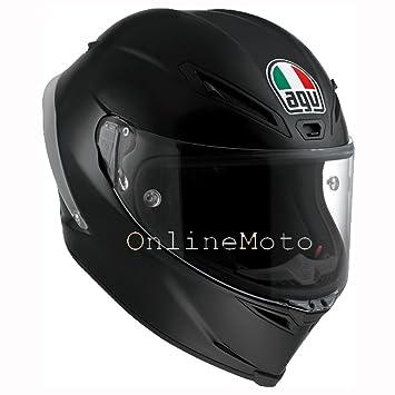 AGV Corsa-R Matt Negro Motocicleta Casco Tamano 62cm