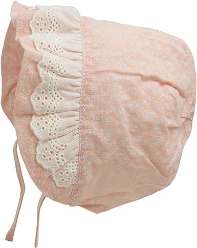 flower bonnet cotton baby bonnet baby bonnet spring bonnet sunbonnet 0-3 month bonnet baby sunbonnet reversible bonnet summer bonnet