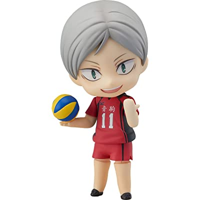 Orange Rouge Haikyu!! Lev Haiba Nendoroid Action Figure: Toys & Games