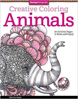 Amazon.com: Creative Coloring Animals: Art Activity Pages