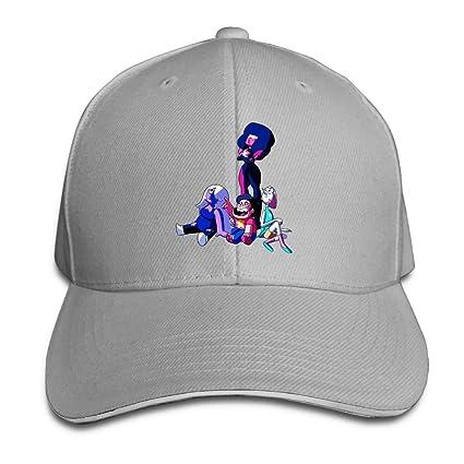 Geneva F Adult Steven Universe Adjustable Baseball Snapback Cap Ash 9d29d2c59dd