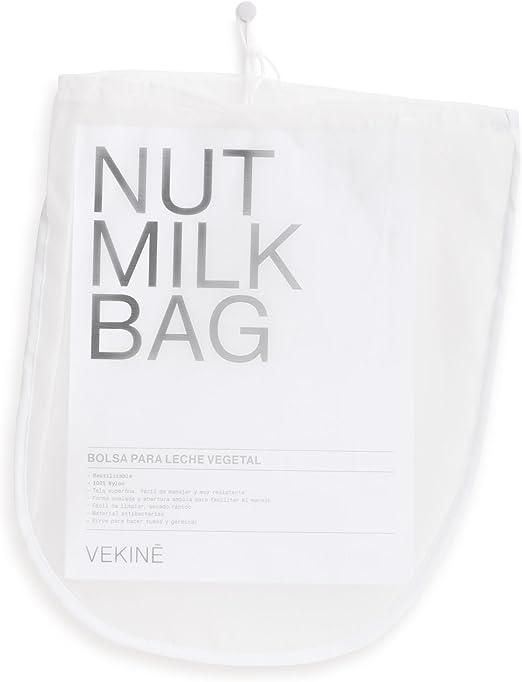 Bolsa para Leche Vegetal VEKINE | Germinador | Nut Milk Bag VEKINE ...