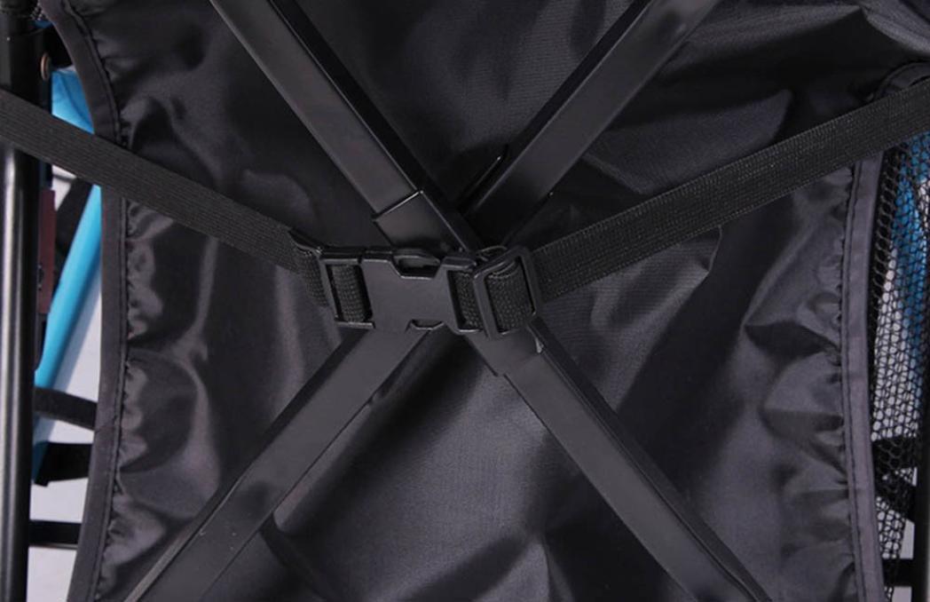 JPOQW UPF 50+ Adjustable Baby Stroller Sun Shade Sun Visor (Black) by JPOQW (Image #7)