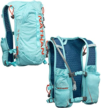 Nathan TrailMix Running Vest/Hydration Pack. 7L (7 Liters) for Men and Women    2L Bladder Included (2 liters). Zipper, Phone Holder, Water, Hydration  Packs - Amazon Canada