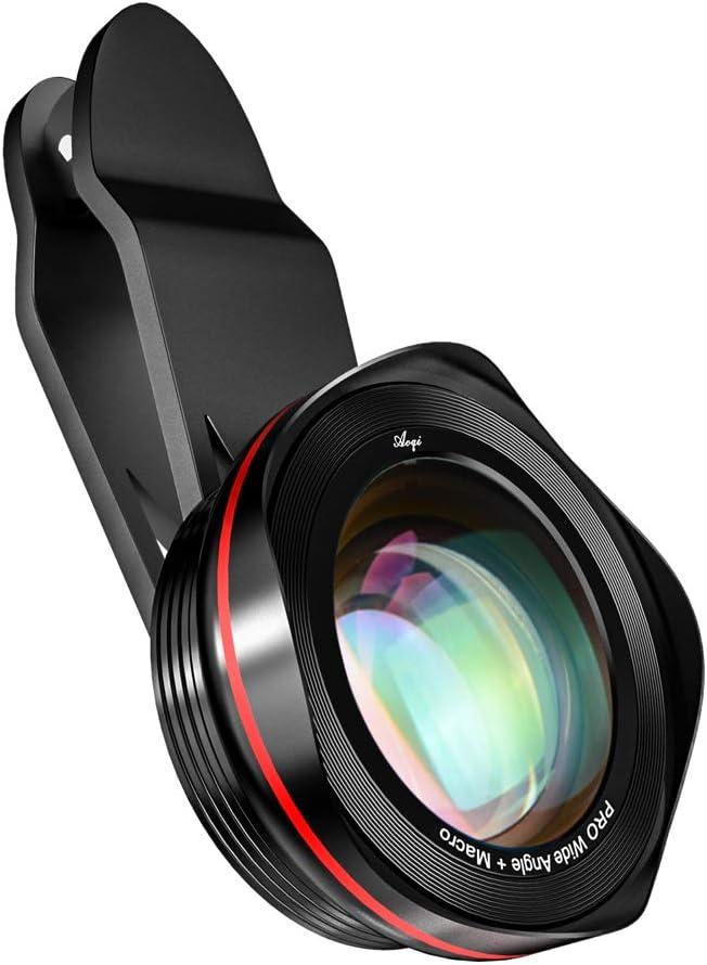Kit de lentes de cámara para iPhone, Samsung, Pixel