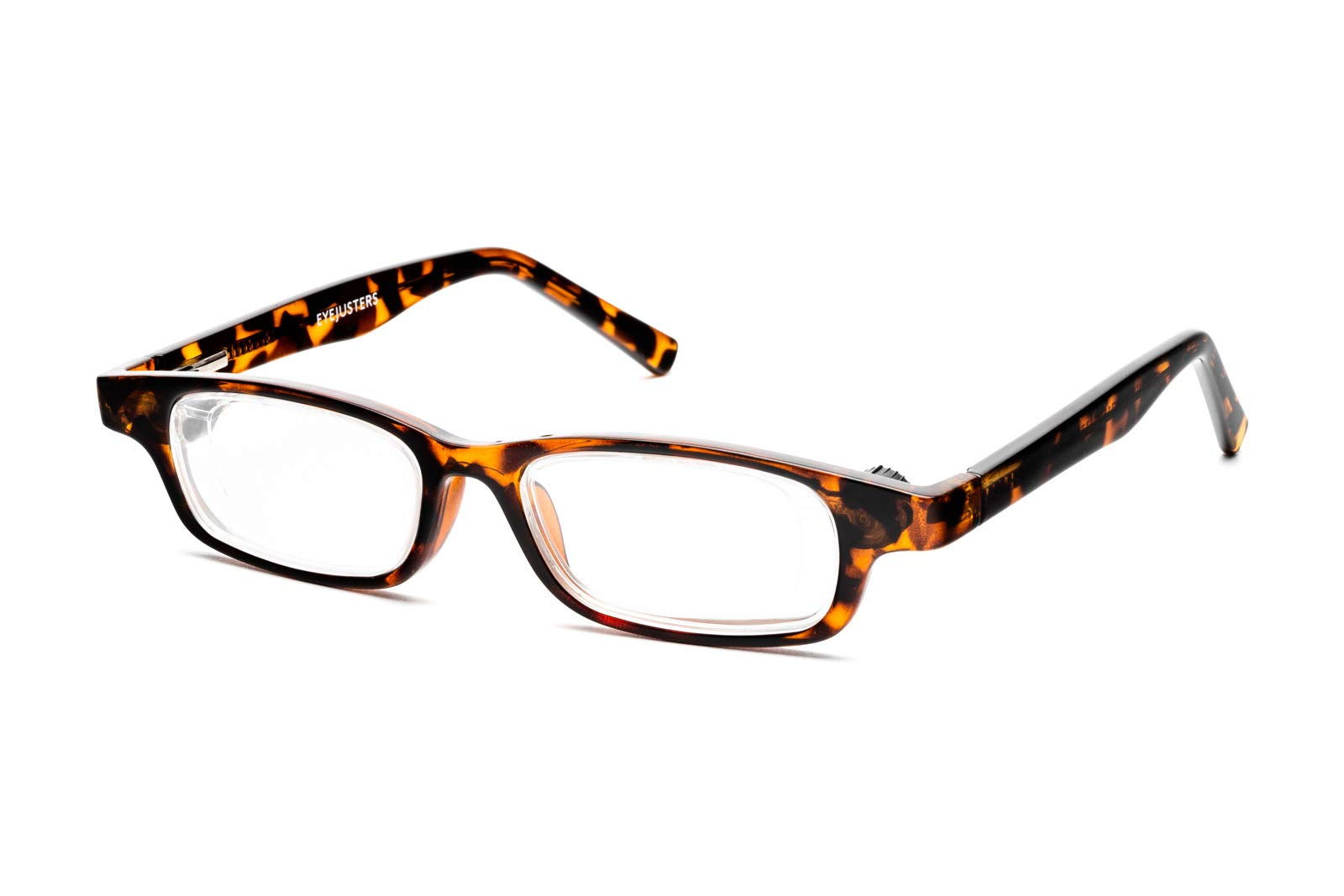 Eyejusters Self-Adjustable Glasses, Oxford Edition, Tortoise by Eyejusters