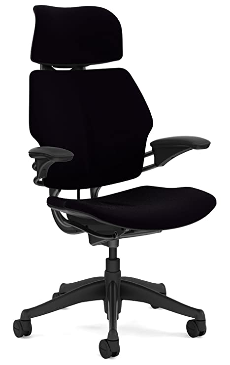 new concept cd675 891a8 Humanscale F211GV101 Freedom Task Chair with Headrest