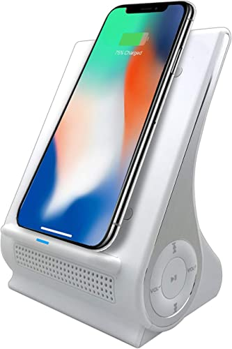 Azpen Dockall D101 Qi Wireless Charging Station White