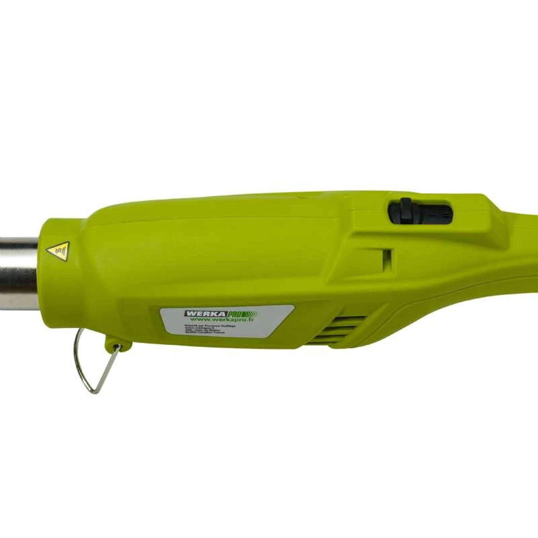 elektrisch Werkapro Unkrautbrenner mehrfarbig