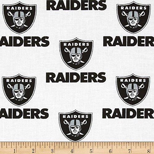 lovemyfabric NFL Sports Teams Logo Print Stage Backdrop/Photography Backdrop/Photo Studio Background 5 Feet by 9 Feet (Oakland Raiders -