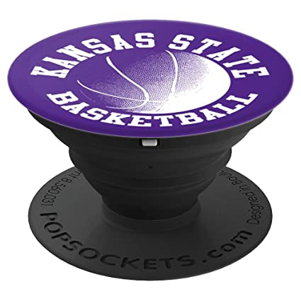 Amazon.com: Kansas State Basketball PopSockets Grip and ...
