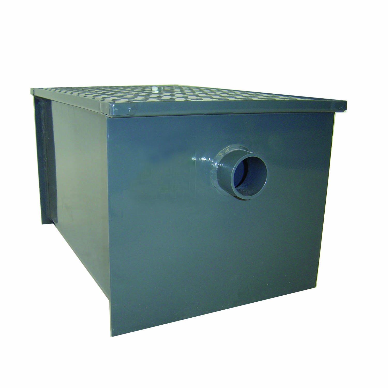 Uncategorized Kitchen Grease Trap Design john boos gt 8 carbon steel grease interceptor kitchen products amazon com industrial scientific