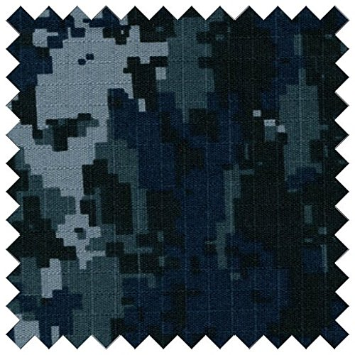 Cotton Ripstop US Navy Digital Camouflage Fabric By The Yard