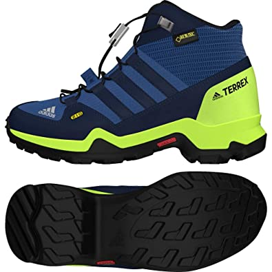 e37cce605044 adidas Unisex Kids  Terrex Mid GTX K High Rise Hiking Boots  Amazon.co.uk   Shoes   Bags
