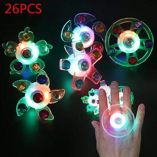 VIVIANU - Juego de 26 pulseras con luces LED intermitentes ...