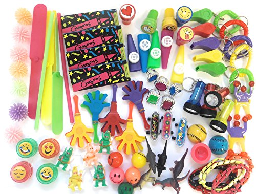 Bulk Toys Party Favors Toy Assortment Kids Jumbo 120 Piece Favor Small Toy Assortments Birthday Party Bags Fillers Pinata Prize Carnival Claw Game School Dentist Doctor Rewards Stocking Stuffer by TSF TOYS (Image #2)