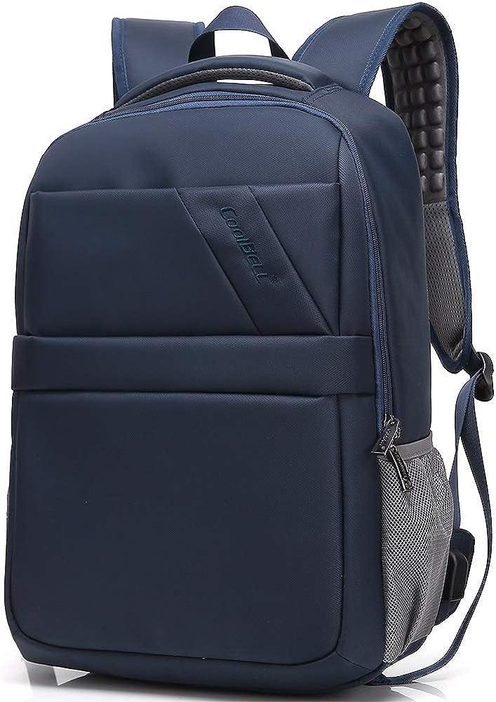 HDHUA Laptop Bag Nylon Backpack Men Outdoor Travel Fashion Business Laptop Backpack