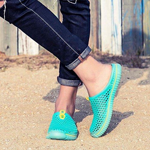 aushöhlen Lässige Flops Fußpedal Unisex Sandalen Paar Schuh Green Loch Socken Schnorcheln Surf Ein Barfußschuhe Stiefel Flip Diving Paar Strand Sandale Mint Schuhe Scuba Liebhaber Laufen qwvpOtnIxX