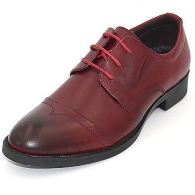 Formale Mens Classic Shoe Handgefertigte Leder Soled Workplace Oxford Fashion Lace-up Spitz Leder Schuhe