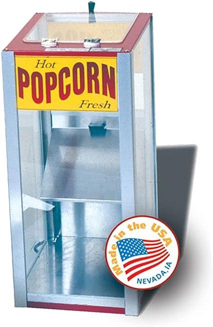 Popcorn Warmer Merchandiser Nacho Peanut 2150110 70qt Amazon Co Uk Kitchen Home