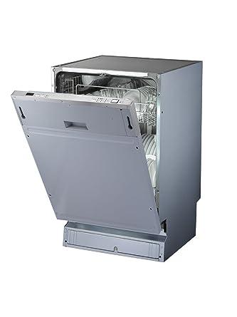 PKM DW9 7FI Silber Einbau Geschirrspüler, Vollintegrierbar, 45 Cm, A++, 9  Maßgedecke: Amazon.de: Elektro Großgeräte