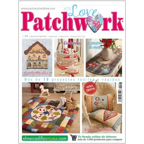 PATCHWORK WITH LOVE Nº 17 - Revista de patchwork: Amazon.es ...