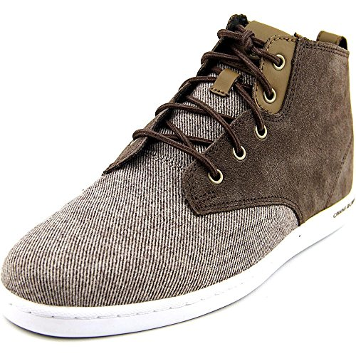 Brown Suiting (Creative Recreation Men's Vito Fashion Sneaker, Brown Suiting, 8 M US)