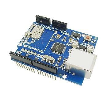 Aihasd W5100 Escudo Ethernet Network Módulo Expansión de la ...